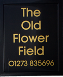 old flower field logo